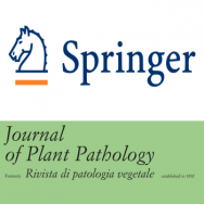 Springer new editor of Journal of Plant Pathology in 2018