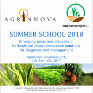 EMPHASIS Summer School Emerging pests and diseases in horticultural crops