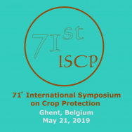 71st International Symposium on Crop Protection (21 May 2019 - Ghent, Belgium)
