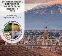 5th International Conference on Microbial Diversity 2019, Catania (Italy), 25-27 September 2019