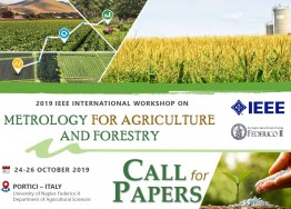 2019 IEEE INTERNATIONAL WORKSHOP ON Metrology for Agriculture and Forestry, 44-26 October 2019, University of Naples Federico II (Portici)