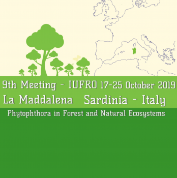 "Contributo SIPaV_9th Meeting IUFRO ""Phytophthora in forests and natural ecosystems"""
